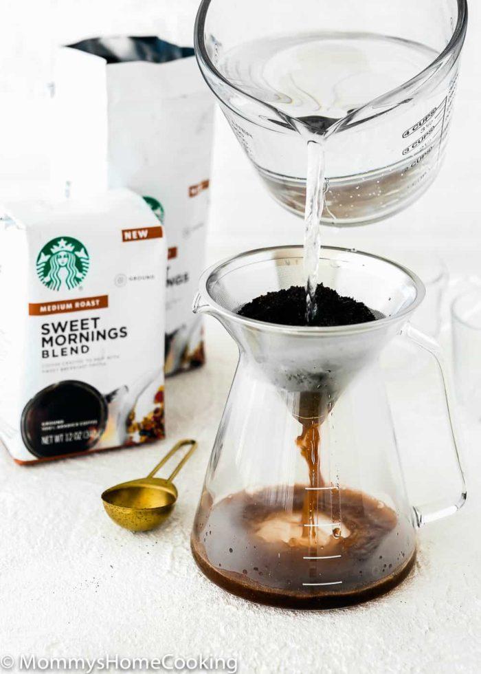 brewing Sweet Morning Startbuck Coffee