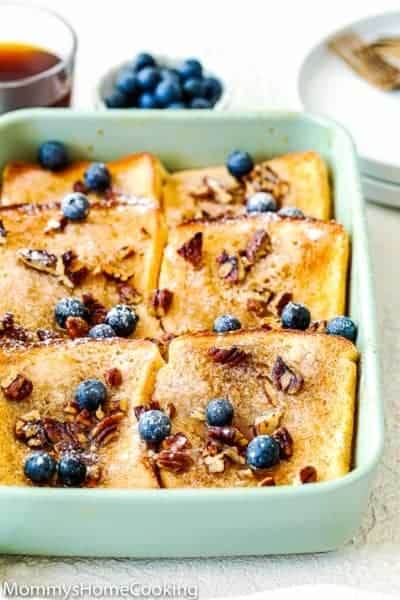 Eggless French Toast Casserole