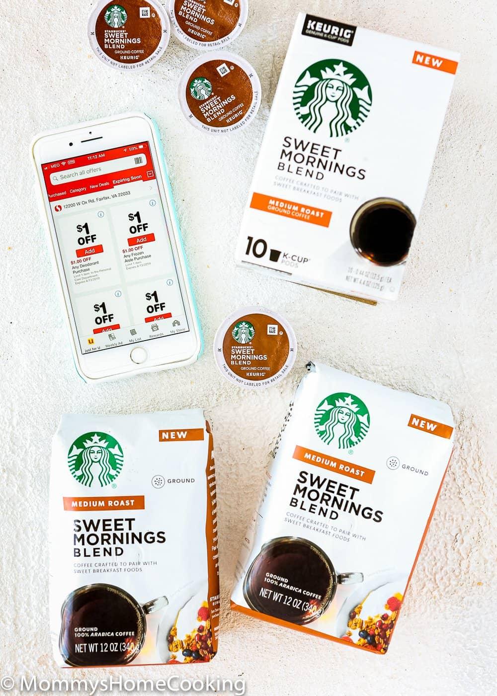 Sweet Morning Startbuck Coffee at Safeway