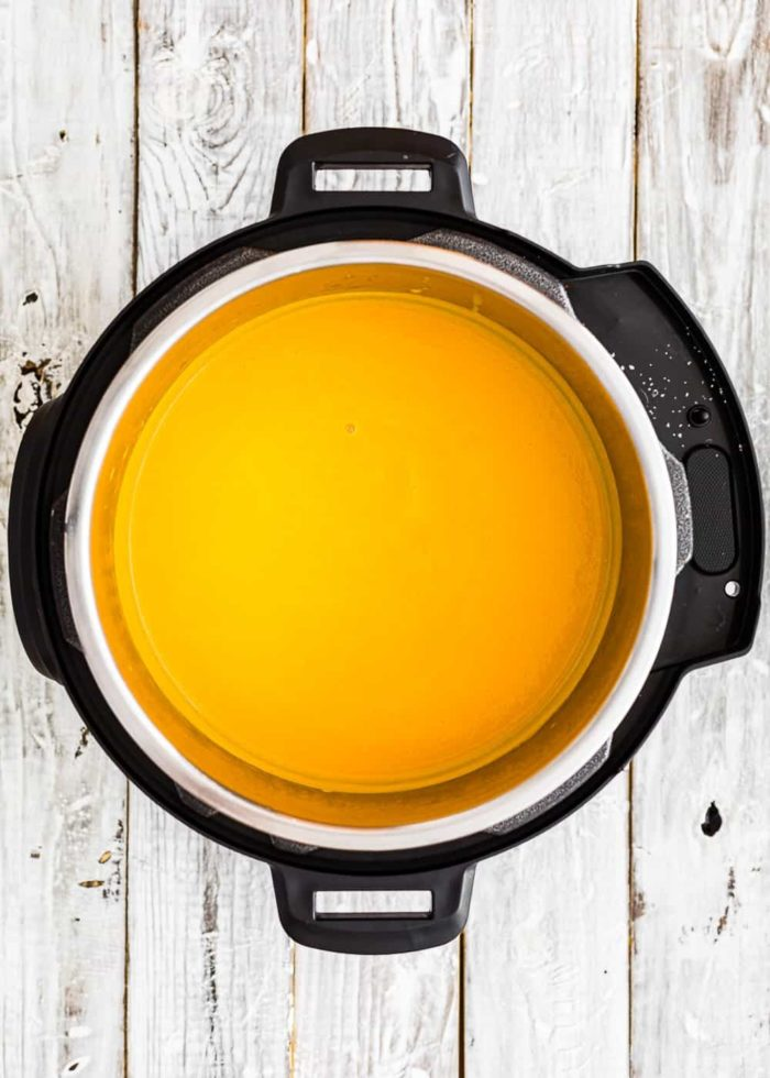 How to make pumpkin soup in the Instant pot step 5