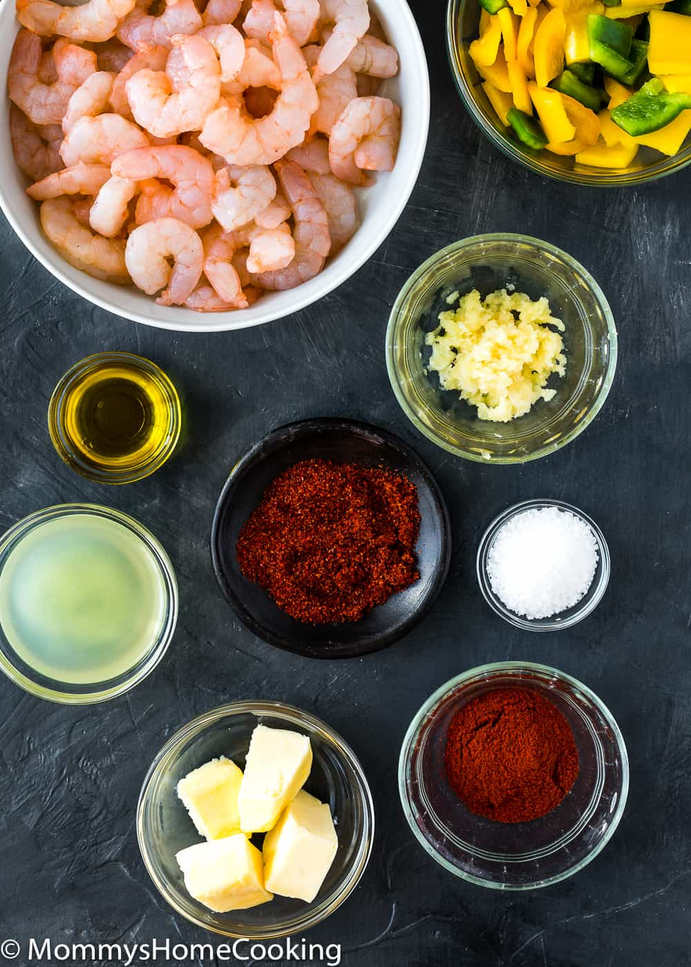 easy peri peri shrimp ingredients