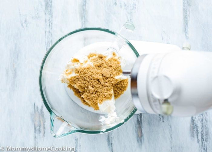 How to make eggless cheesecake step 4