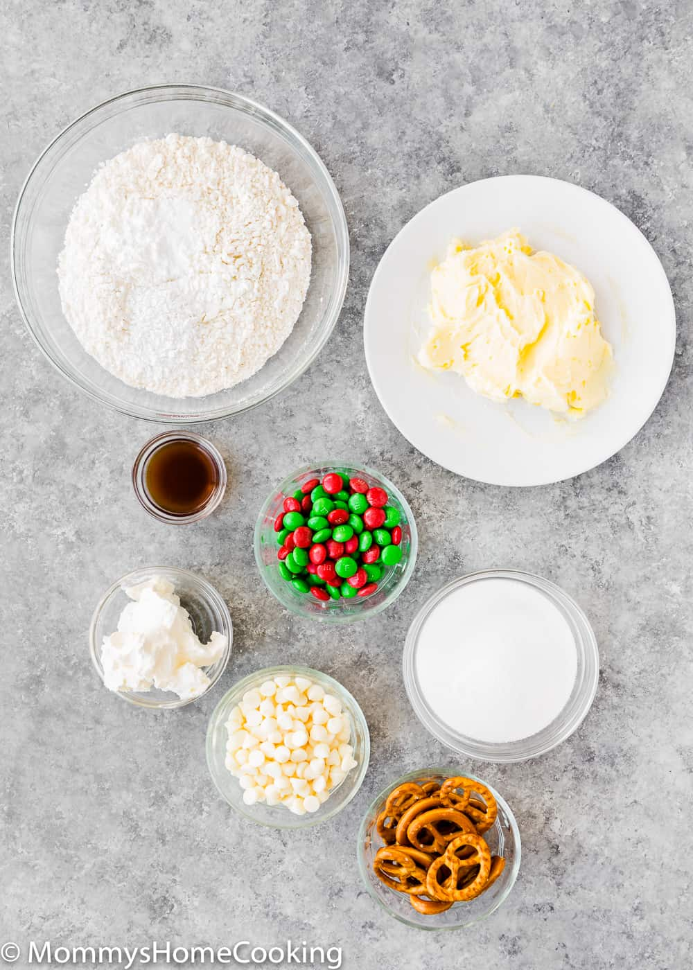 Easy Eggless Christmas Cookies Ingredients