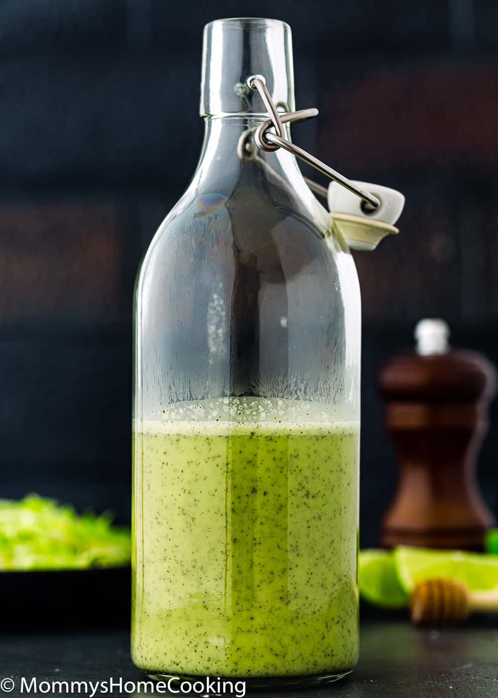 green onion vinaigrette
