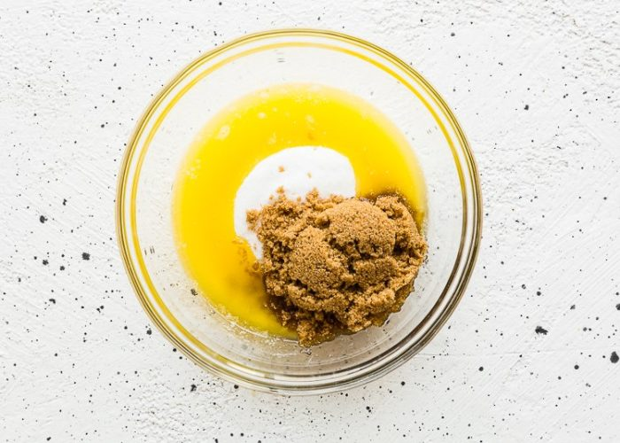 How to Make Eggless Snickerdoodle Bars step 1