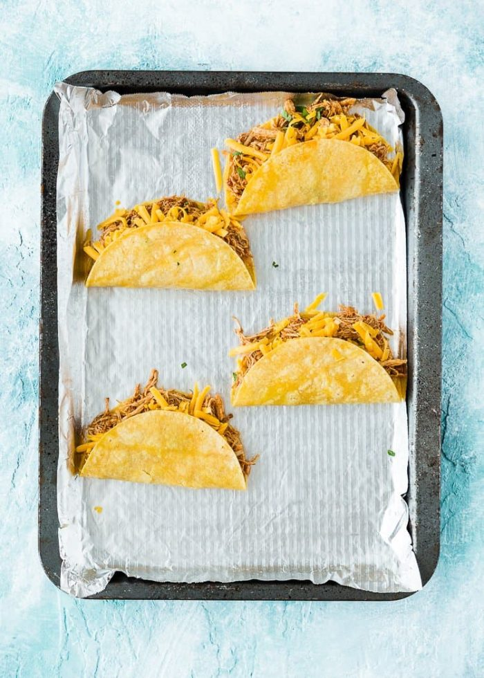 How to make Easy Instant Pot Mexican Shredded Chicken tacos step by step 4