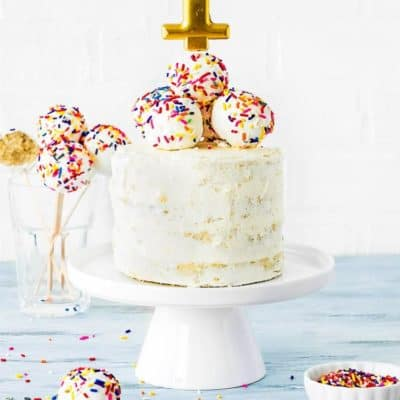 Easy Eggless Smash Cake