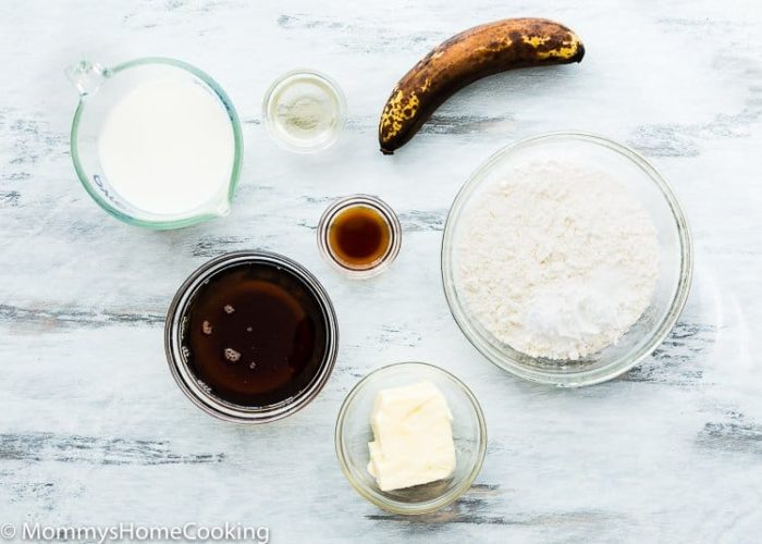 Eggless Smash Cake Ingredients
