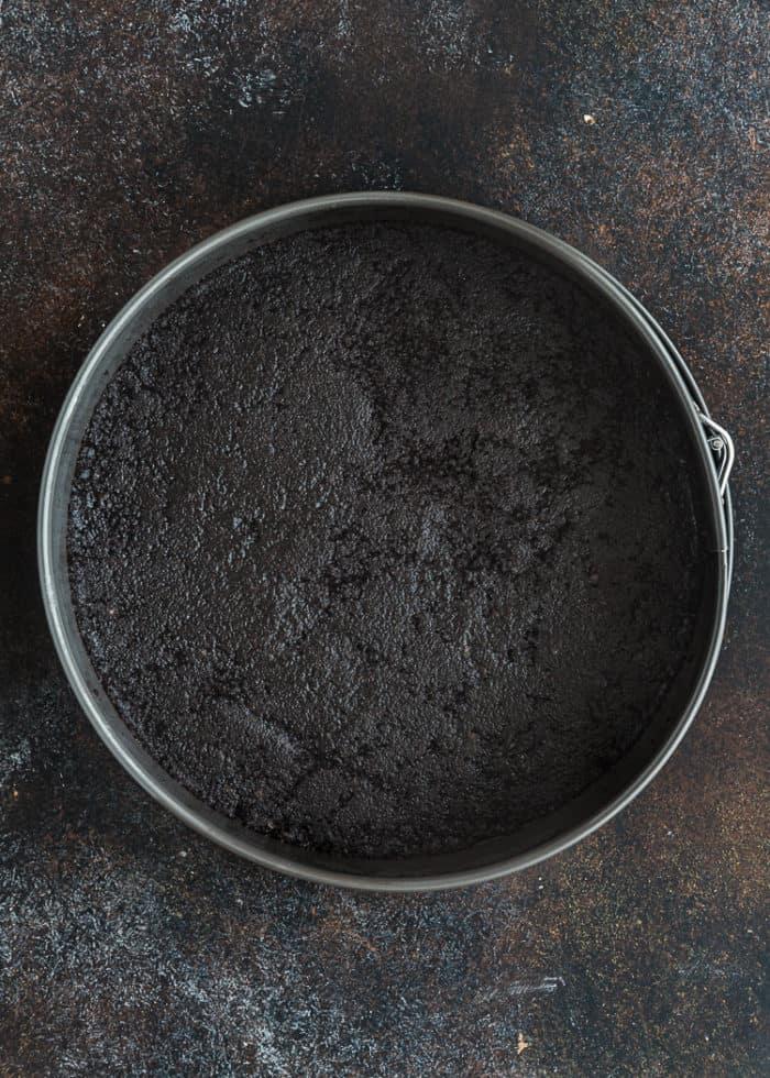 How to make Eggless Chocolate Cheesecake step by step 2