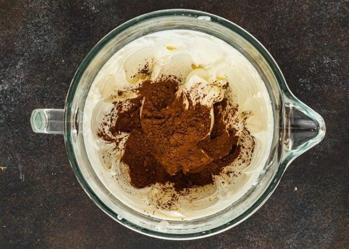 How to make Eggless Chocolate Cheesecake step by step 6