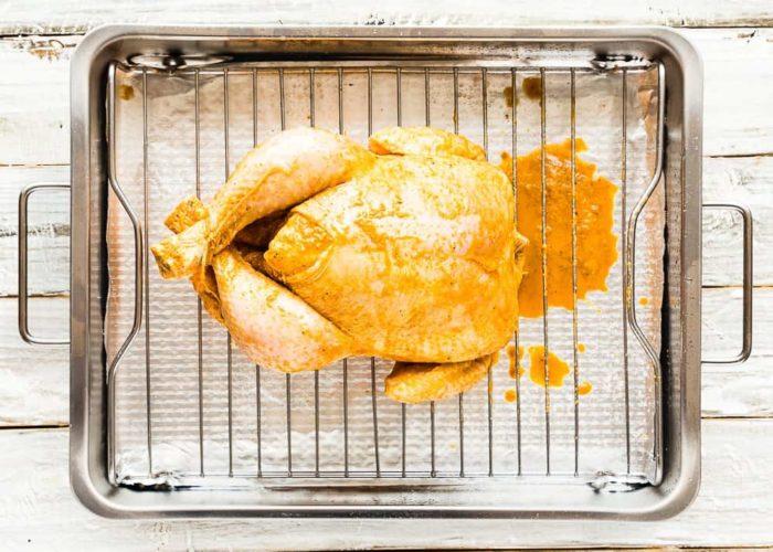 how to make Easy Venezuelan Roasted Chicken step 6