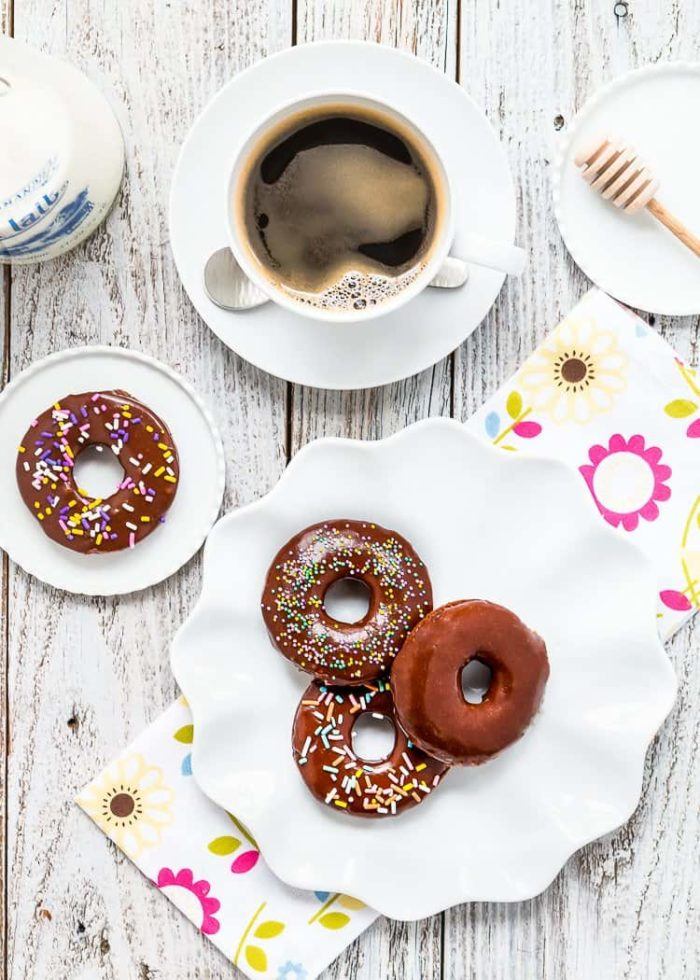 chocolate donuts made without eggs