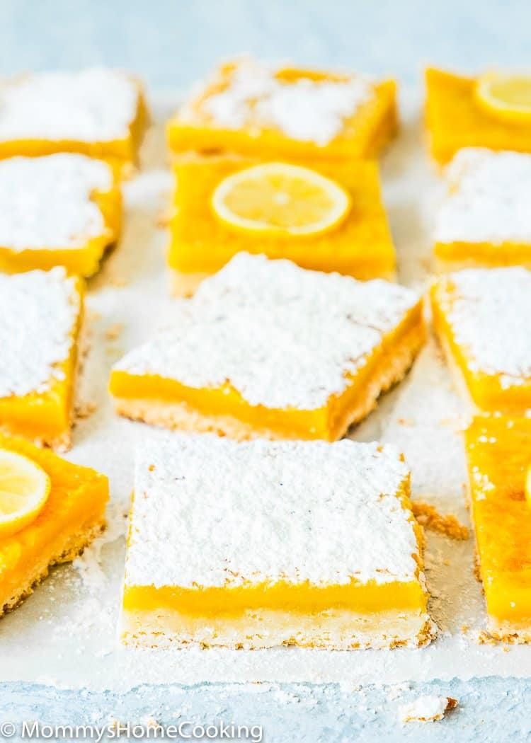 Egg Free Lemon Bars