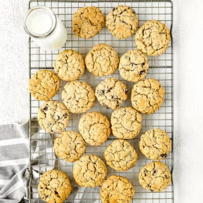 Eggless Oatmeal Cookies