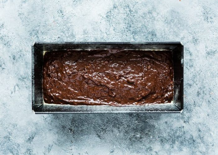 How to make Eggless Chocolate Banana Bread step 14