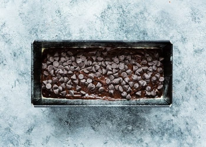 How to make Eggless Chocolate Banana Bread step 15