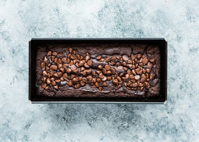 How to make Eggless Chocolate Banana Bread step 16
