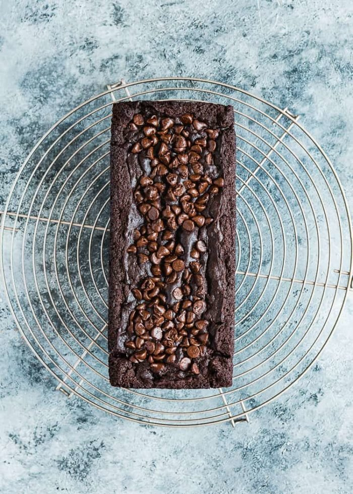 How to make Eggless Chocolate Banana Bread step 17