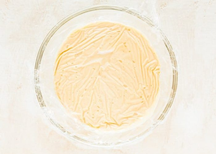 How to make Eggless Pastry Cream step 8