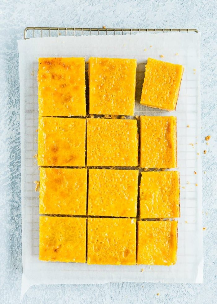 How to make Lemon Bars without eggs step 16