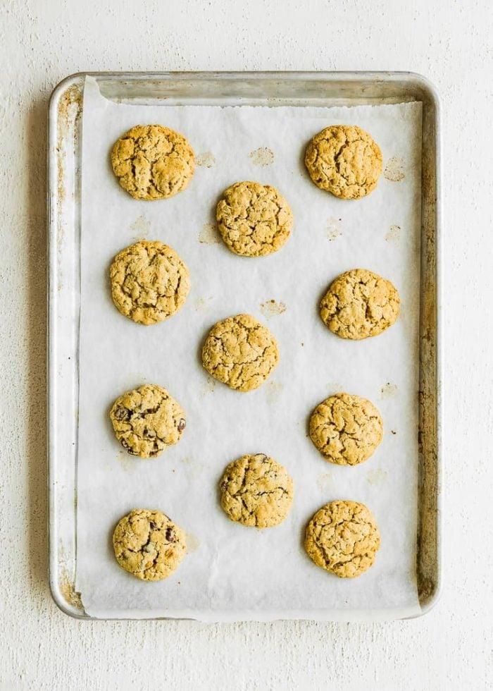 How to make Eggless Oatmeal Cookies step 7