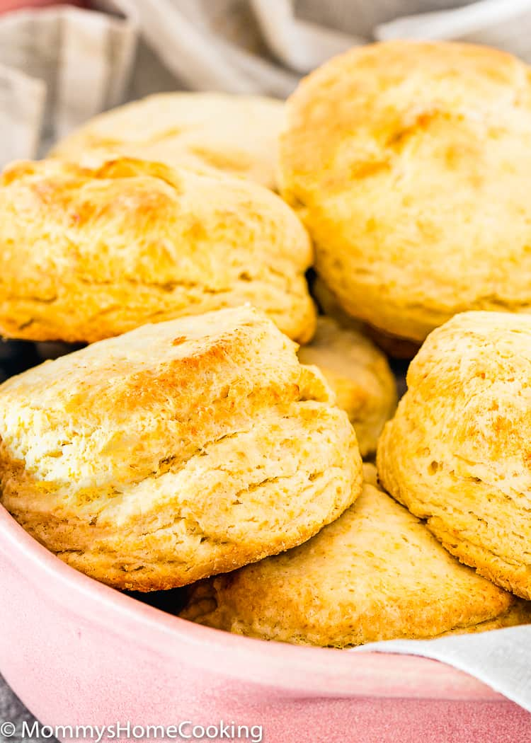 Baked Easy Eggless Biscuits