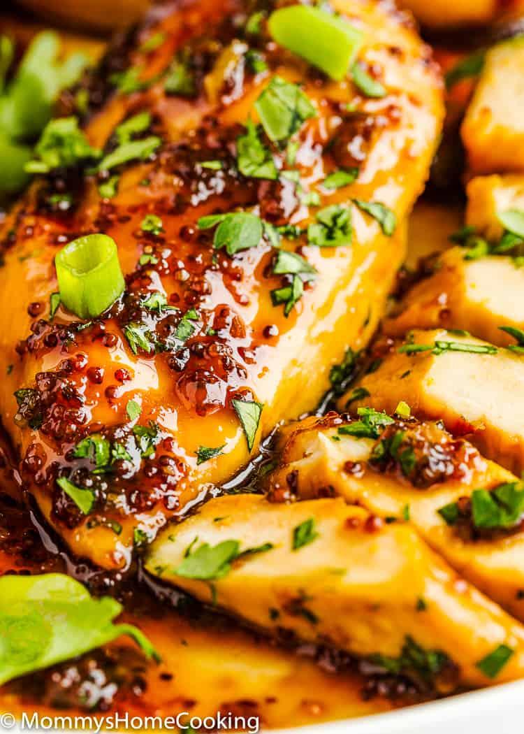 easy Mustard Glazed Chicken Breast
