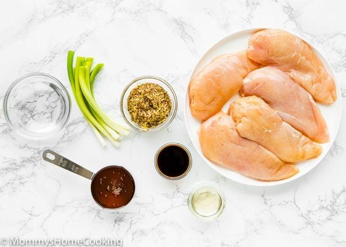 Mustard Glazed Chicken Ingredients