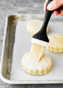 How to make Easy Eggless Biscuits step 10