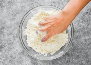 How to make Easy Eggless Biscuits step 4