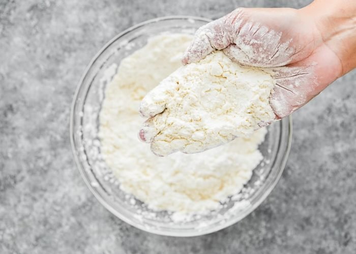 How to make Easy Eggless Biscuits step 5