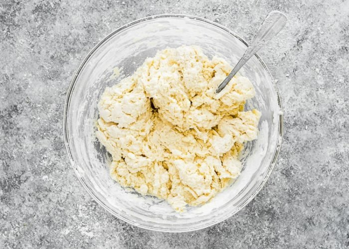 How to make Easy Eggless Biscuits step 6