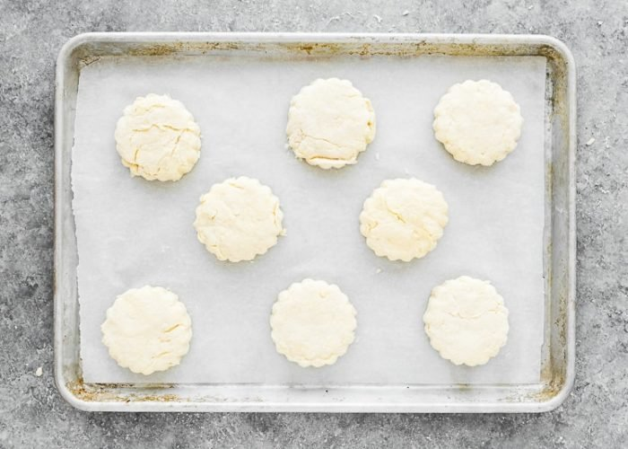 How to make Easy Eggless Biscuits step 9