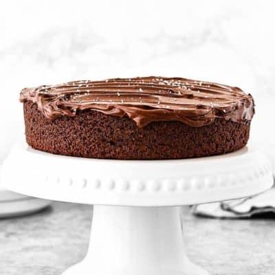 One Bowl Eggless Chocolate Cake