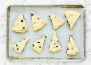 How to make Eggless Blueberry Scones step 13
