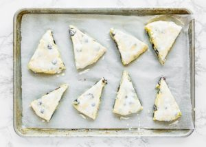 How to make Eggless Blueberry Scones step 14