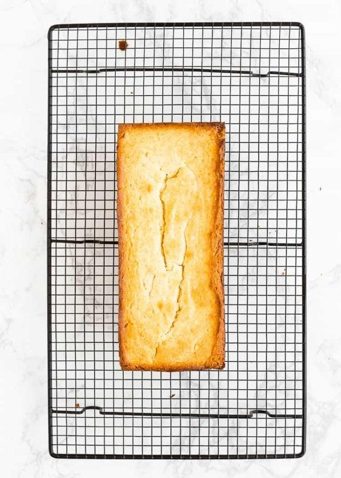 how to make Eggless Lemon Pound Cake step 7