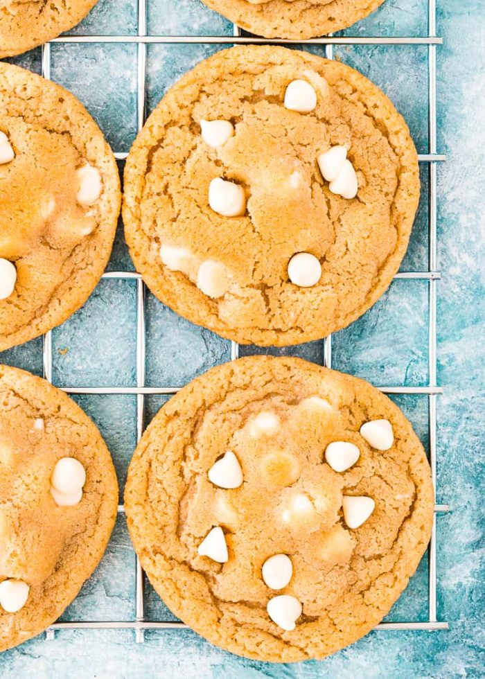 How to make Eggless White Chocolate Chips Cookies step 7