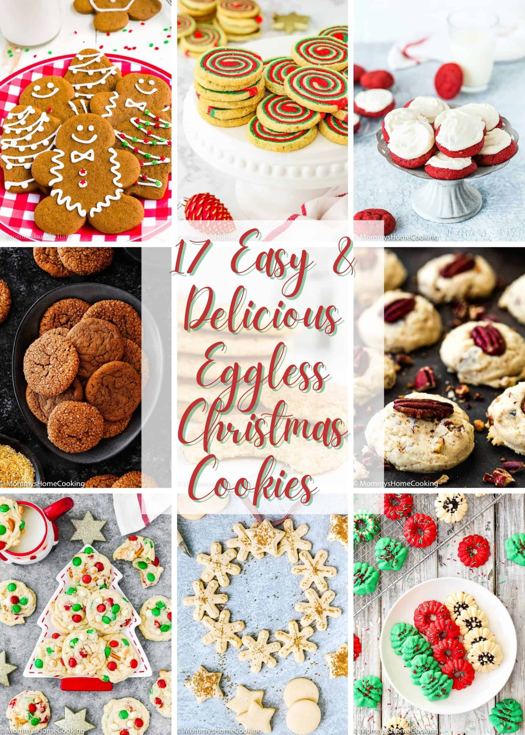 17 easy and delicious eggless Christmas cookies