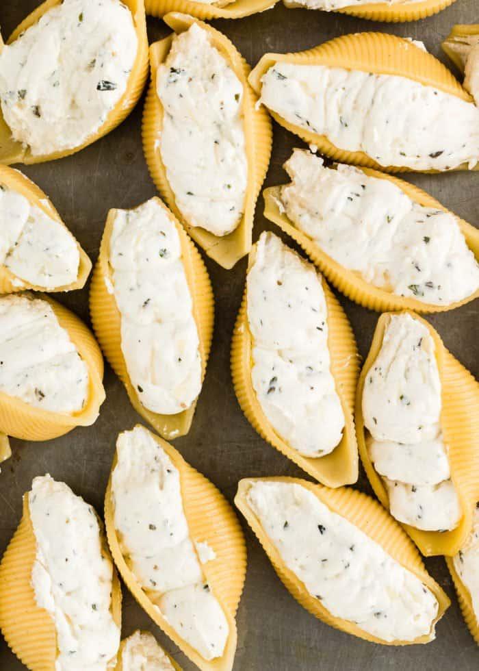 How to Make Eggless Ricotta Stuffed Shells step 8
