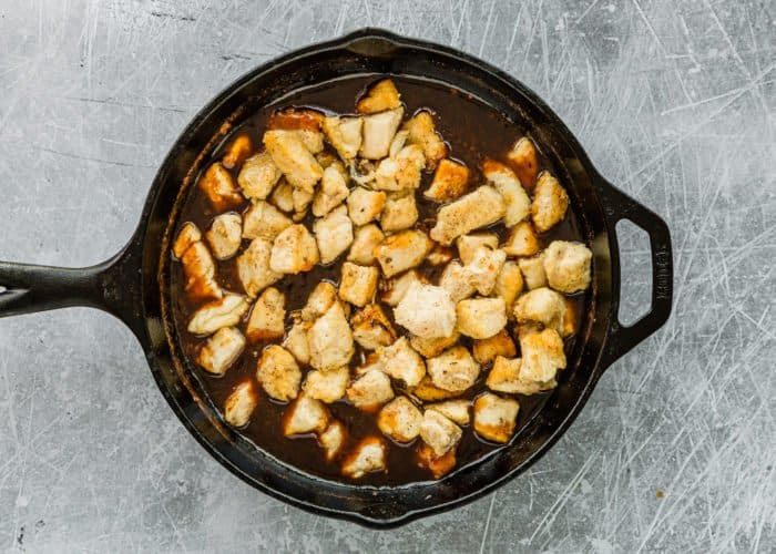 How to Make Easy Sticky Bourbon Chicken step 6