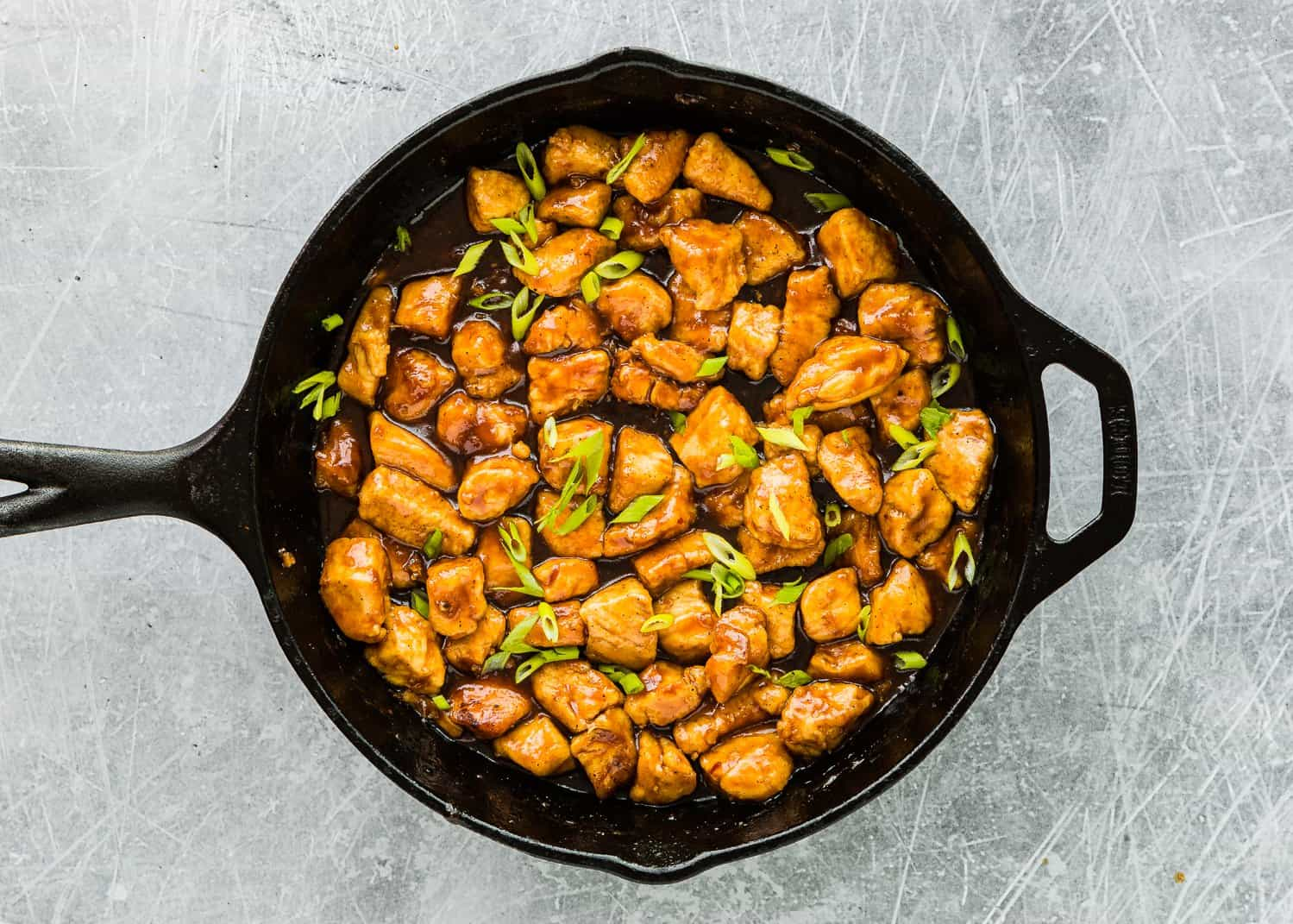 How to Make Easy Sticky Bourbon Chicken step 8