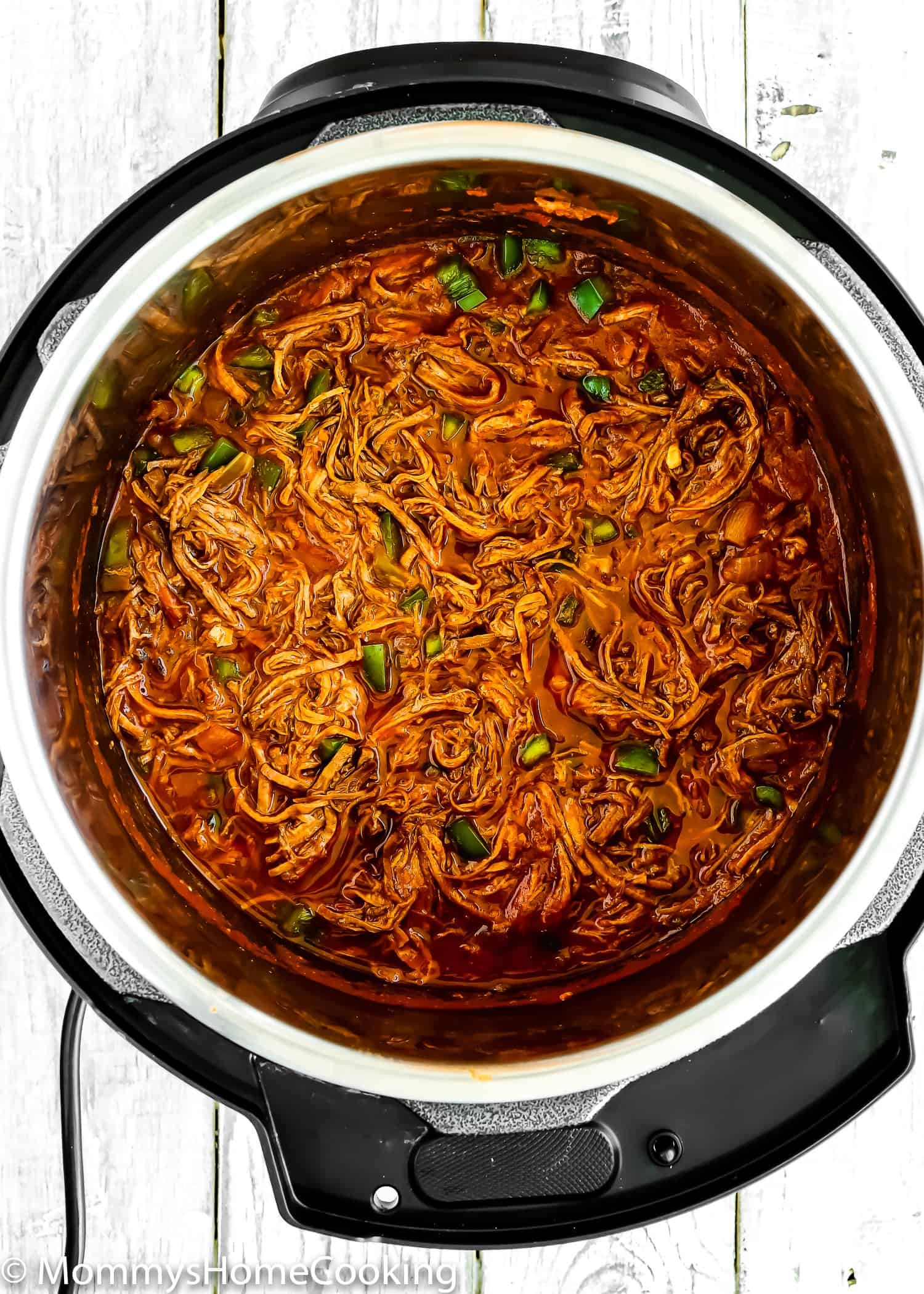 Shredded Beef in a pot